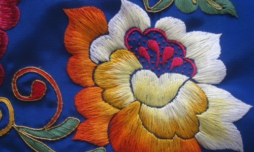 Needles4all. Indonesia. Silk Thread Embroidery 2
