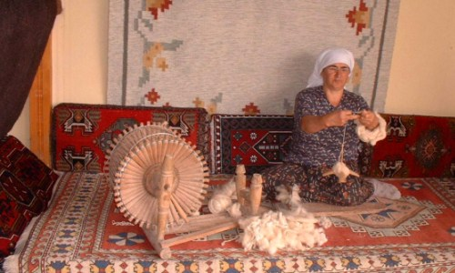Needles4all. Turkey. Wool Spinning