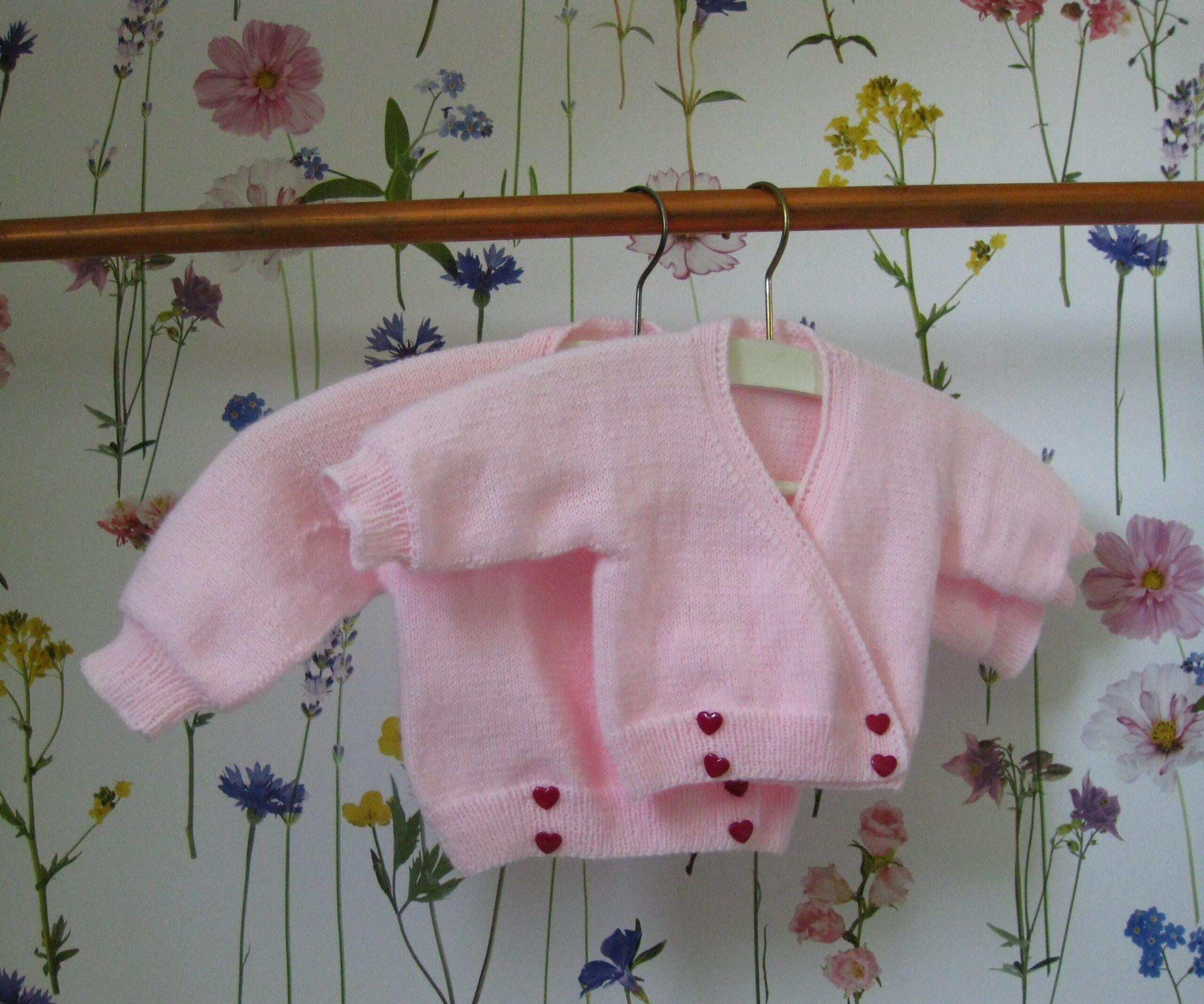 Babyvestjes Babyrose (0-3 Mdn/3-6 Mnd)
