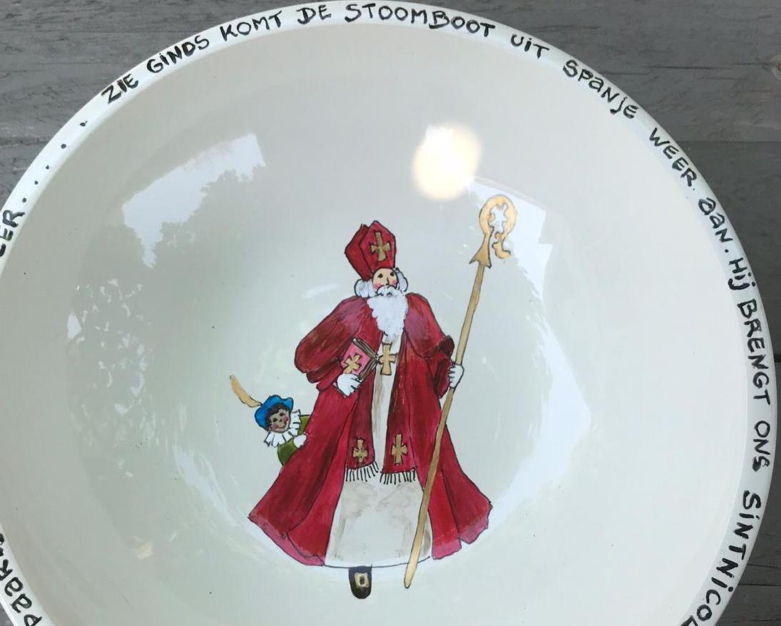 Sinterklaas Schaal