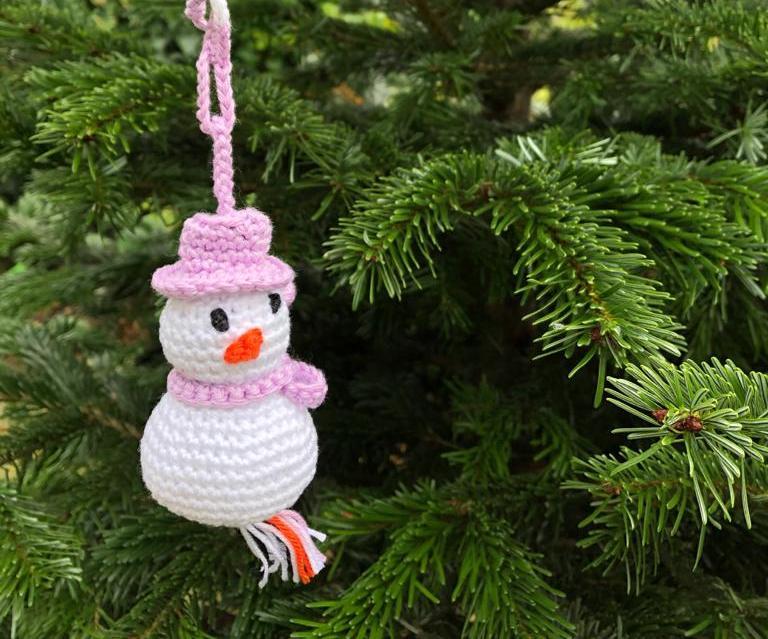 Geluks-sneeuwpopje